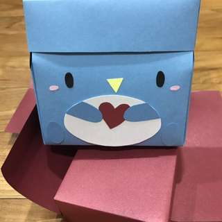 Penguin Box Card