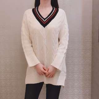 H:CONNECT 長版毛線衣