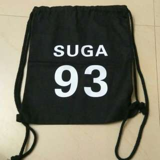 BTS SUGA DRAWSTRING BAG STRING BAG