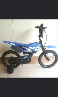 Scrambler bicyle