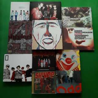 SHINee Albums Clearance