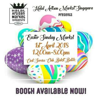 Halal Artisan Market - Easter Sunday