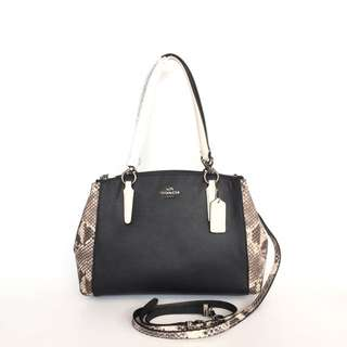 Coach Small Christie Carryall in Crossgrain