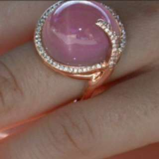 Gemstone Pink sapphire ring