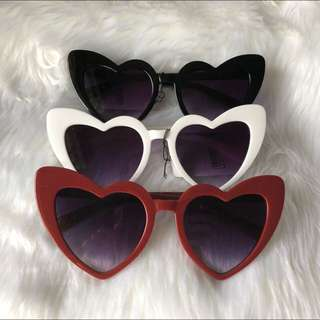 Anne Curtis Inspired Cat eye heart sunnies