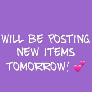 New Items! 💕