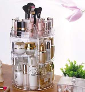 BNIB Transparent Makeup Organizer