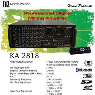 Martin Roland KA2818 Karaoke Amp