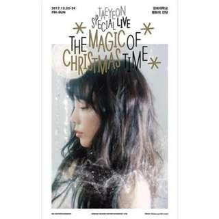 [ TAEYEON ] The Magic of Christmas Time DVD