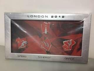 可口可樂2012倫敦奧運襟章