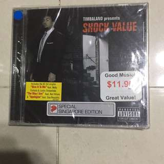 Selling CD Shock Value by Timbaland