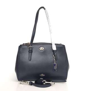 Coach Turnlock Carryall 29 Satchel