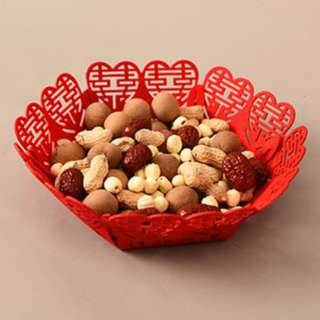 "喜喜"" - Double Happiness Container for Candies or Cookies o"