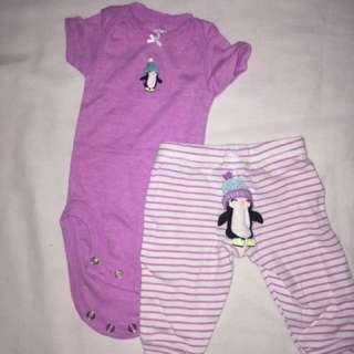 Carter's Set onesie & pants