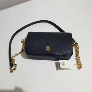 Mini satchel black tory burch