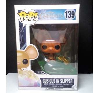 Funko POP! Cinderella Gus Gus in Slipper Vinyl Figure