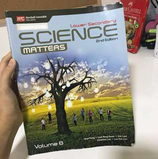 science matters lower secondary vol B textbook