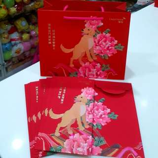 2018 Credit Suisse Red Packets Plus Carrier Bag Set