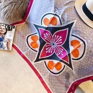 LV 🔥Clearance🔥High Grade Silk Scarf Travel Holiday Shawl Business Trip