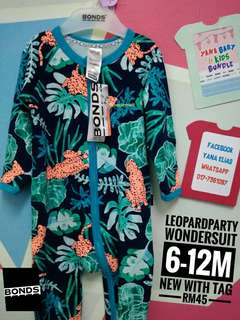 Bonds wondersuit Leopard Party