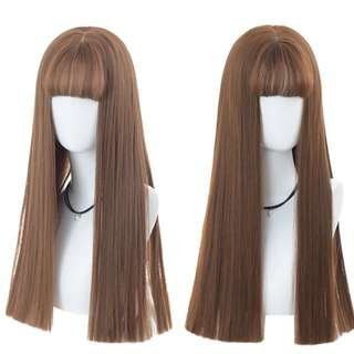 Razor cut air fringe full wig