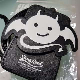 Stayreal Devil card holder & lanyard