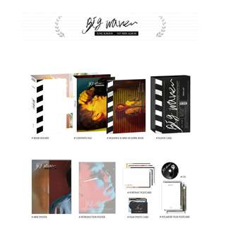 [PREORDER] Jung Il hoon 정일훈 (BTOB) - Big Wave / Mini album