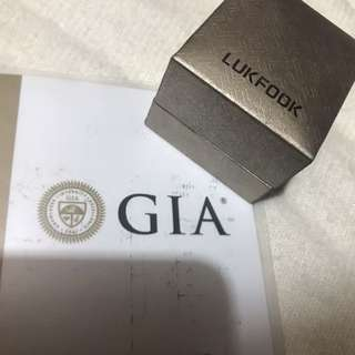 Diamond ring 鑽石戒指 GIA