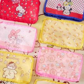 Cute Japanese and Disney Characters Travel Organizing Pouch