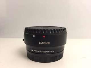 Adapter lensa canon eos m