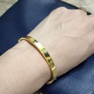 Cartier design bangle