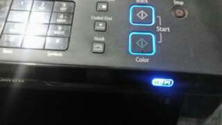 Canon wifi printer 4in1. New inks.