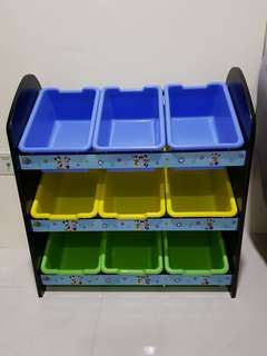 Mickey Mouse Toy Storage Organiser