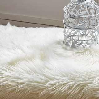 Mangolian shaggy faux fur
