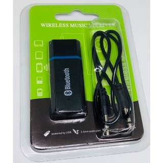 (DELIVERY) USB Wireless Bluetooth 3.5mm Music Audio Receiver