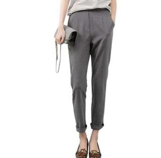 🆕 Women's Tailor-liked Grey Pants