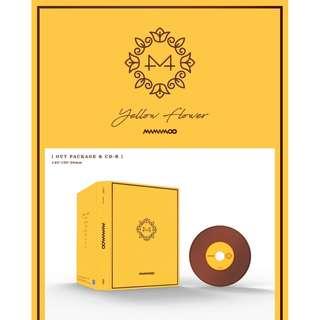 [PREORDER] 마마무 (MAMAMOO) - YELLOW FLOWER / 6TH MINI ALBUM