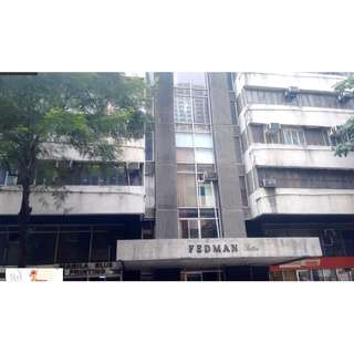 FOR SALE BANK FORECLOSED COMMERCIAL CONDO UNIT IN FEDMAN BLDG MAKATI CITY