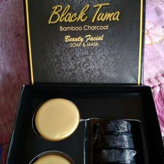 Sabun & Masker Black Tuma