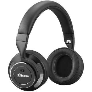 Zinsoko Z-H01 Wireless Active Noise Cancelling Headphones Over Ear Bluetooth Headphone