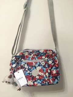 100% NEW Kipling cross-body bag
