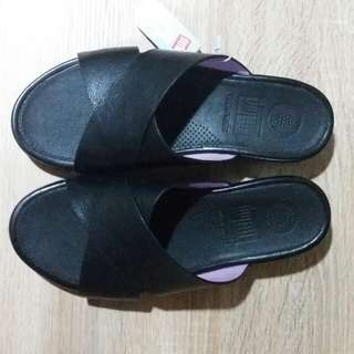 Fitflop AIX Slide Sandals Black