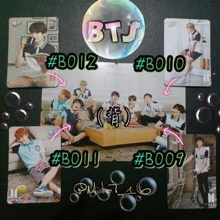 BTS - 專輯卡/YES卡( 拼圖系列三 )