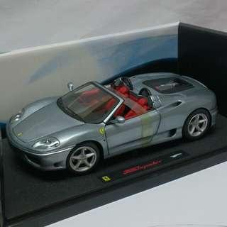 Ferrari 360 Spider 1:18 Elite版本