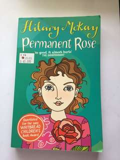 permanent rose by hillary mckay