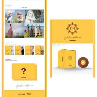 [PREORDER] Mamamoo Yellow Flower