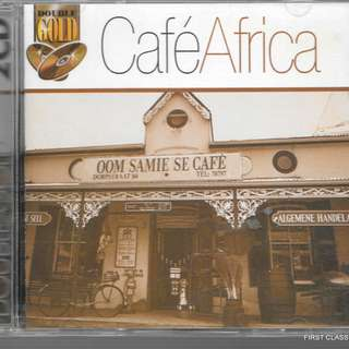 MY PRELOVED CD -CAFE AFRICA - 2CDS ALBUM/ FREE DELIVERY (F3E)