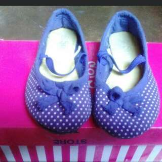 Sugar Kids Denim Dollshoes