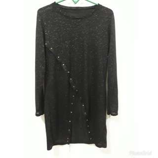 Studed long top