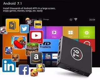 4k Android TV Box T6 (2gb Ram, 16gb Rom)